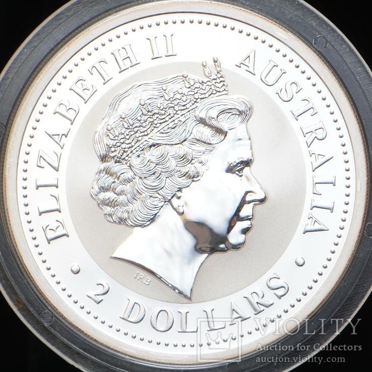 2 Доллара 2006 Года Собаки Колоризированая, Австралия, фото №3