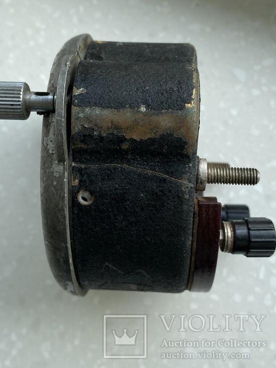 Авиационные часы АЧХ с позолоченным механизмом, фото №9