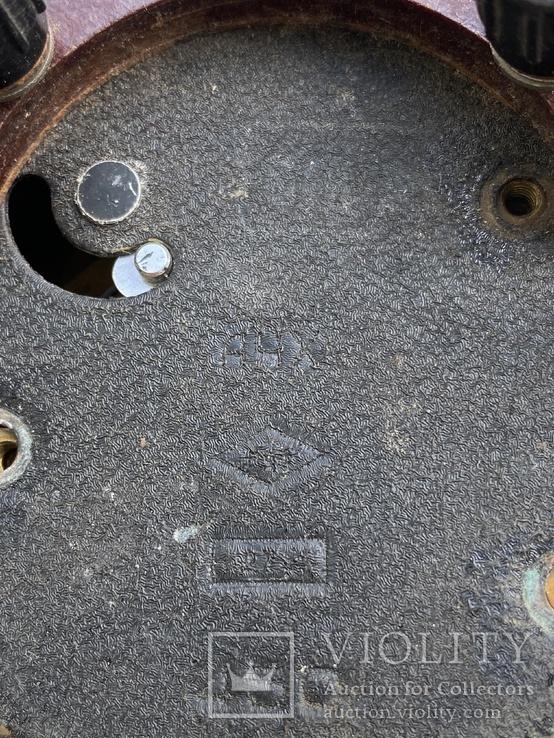 Авиационные часы АЧХ с позолоченным механизмом, фото №12