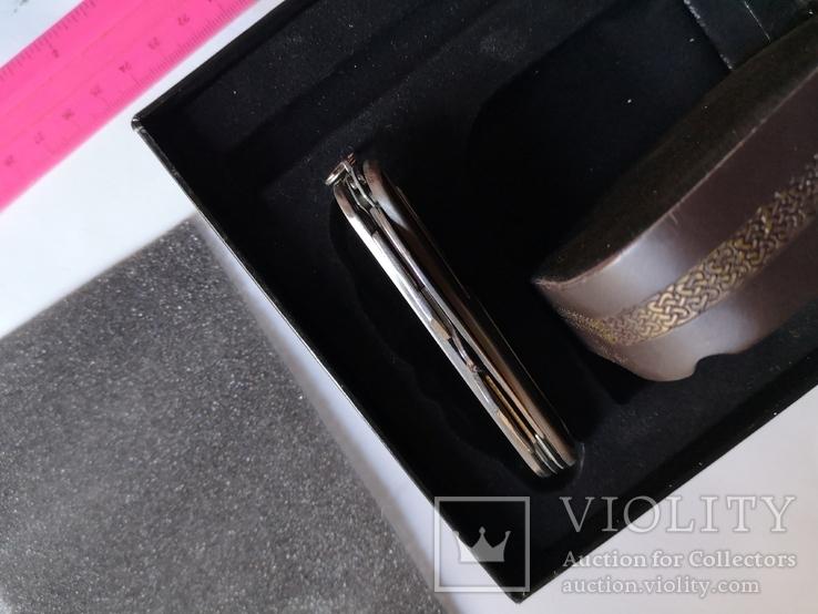 Сувенирный набор нож пепельница зажигалка, фото №9