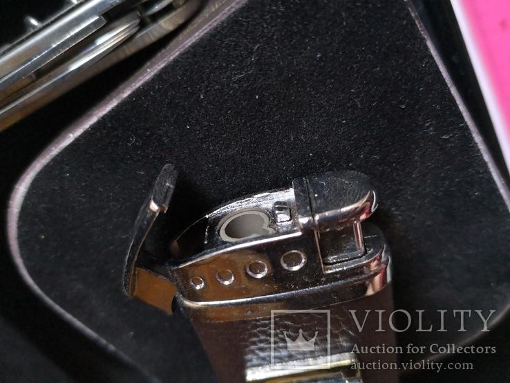 Сувенирный набор нож пепельница зажигалка, фото №10
