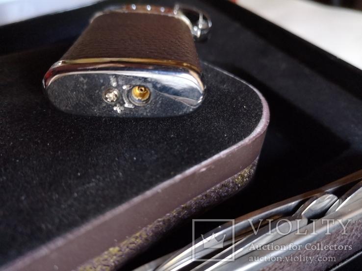 Сувенирный набор нож пепельница зажигалка, фото №12