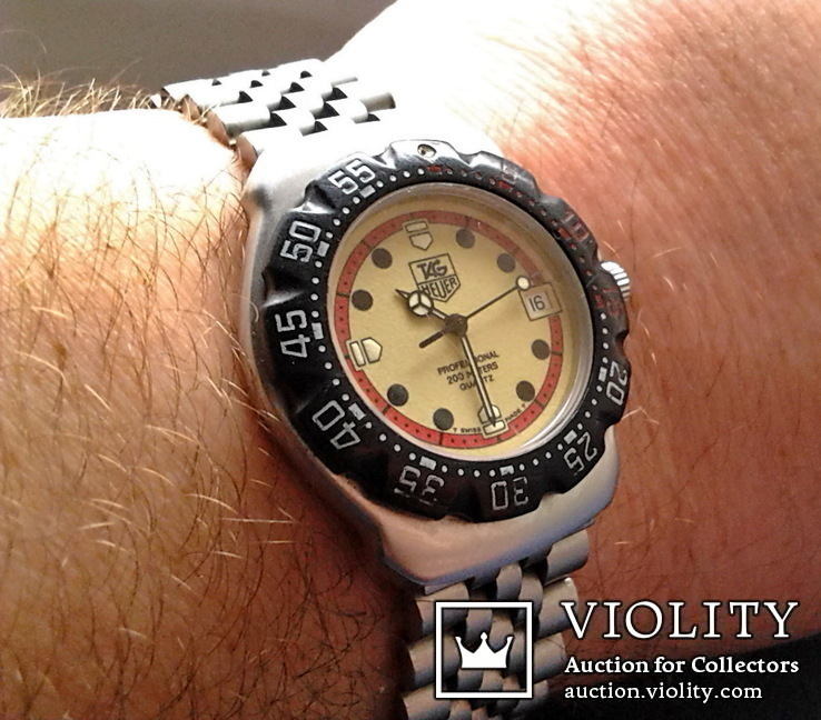 Наручные часы TAG Heuer F1. WA1211. Swiss made., фото №13