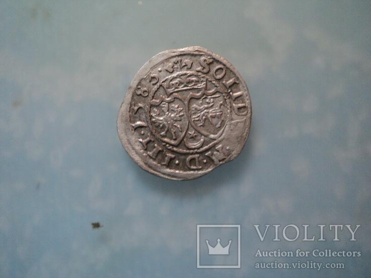 Солид Стефана Батория 1583 г, фото №2