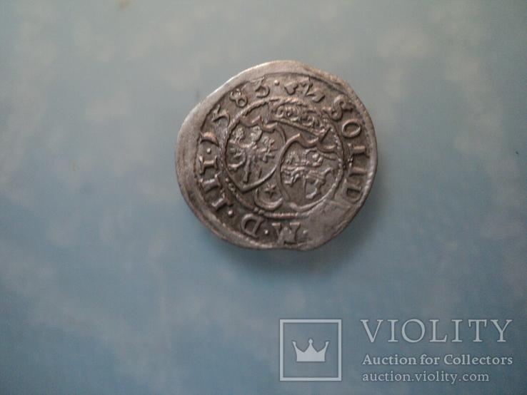 Солид Стефана Батория 1583 г, фото №3