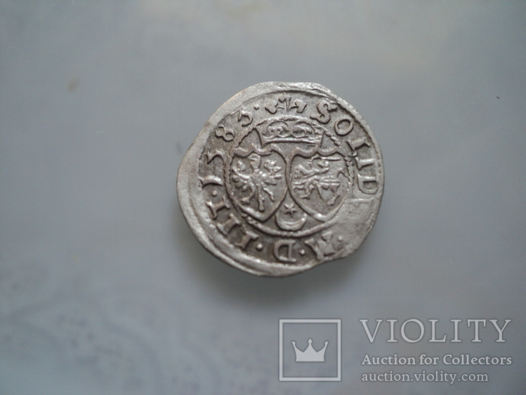 Солид Стефана Батория 1583 г, фото №4