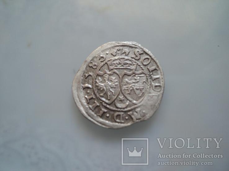 Солид Стефана Батория 1583 г, фото №5
