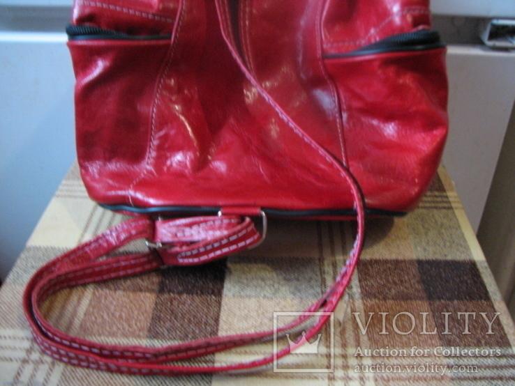 Рюкзак.кожа, фото №8