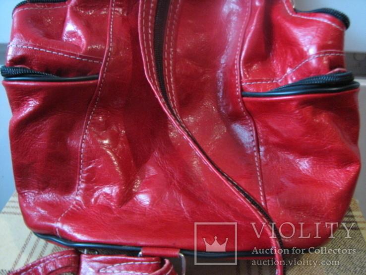 Рюкзак.кожа, фото №9