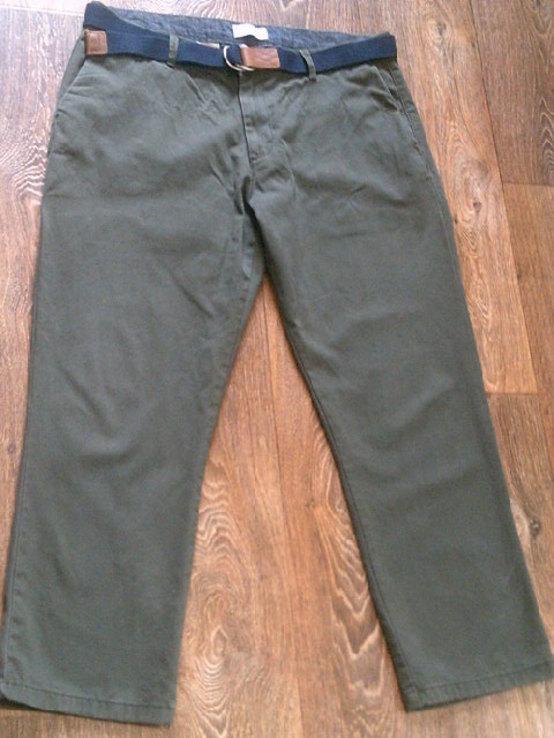 Teilor плотные котон штаны + ремень Gant, фото №2