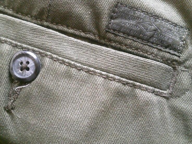 Teilor плотные котон штаны + ремень Gant, фото №10