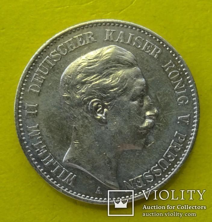 2 марки, Пруссия, 1900 год., фото №3