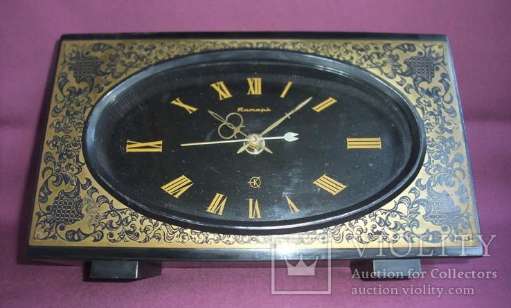 Часы Янтарь электронно-механические II клас точности. Орловский часовой завод., фото №2