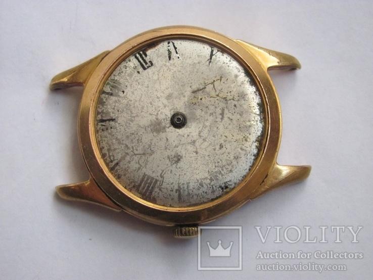 Часы в позолоте Au20у ПЧЗ, фото №4