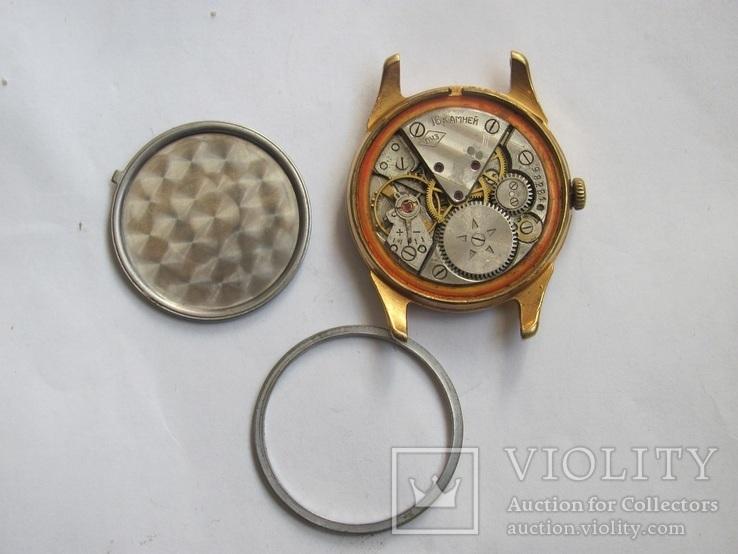 Часы в позолоте Au20у ПЧЗ, фото №5