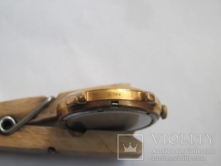 Часы в позолоте Au20у ПЧЗ, фото №6
