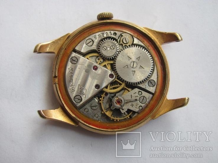 Часы в позолоте Au20у ПЧЗ, фото №10