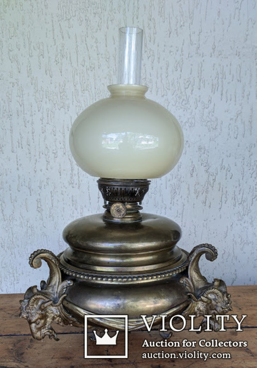 Старая керосиновая лампа ., фото №2