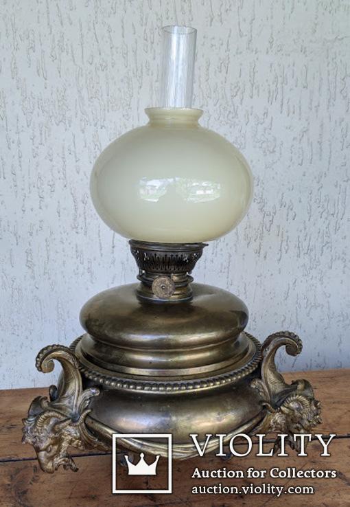 Старая керосиновая лампа ., фото №3
