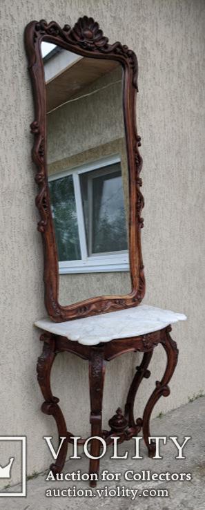 Консоль с зеркалом ., фото №2
