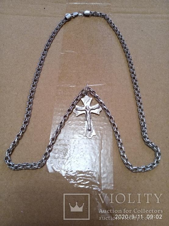 Цепочка с крестиком., фото №2