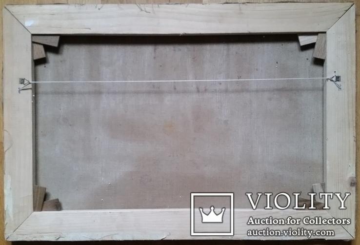 Картина 45х67,5 см, полотно, олія, фото №7
