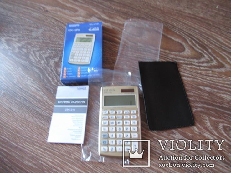 Калькулятор Citizen в коробке, фото №2