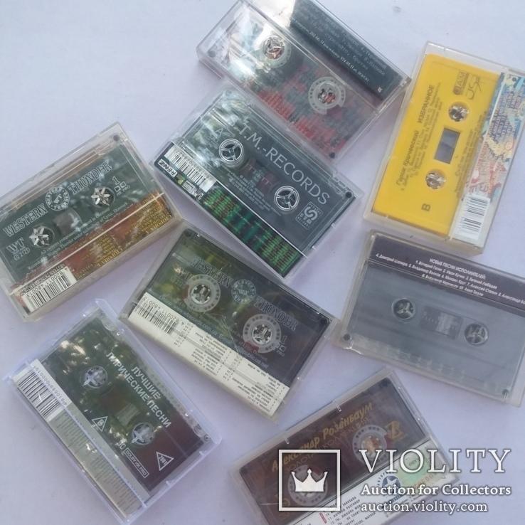 Аудио кассеты 56 шт, фото №7