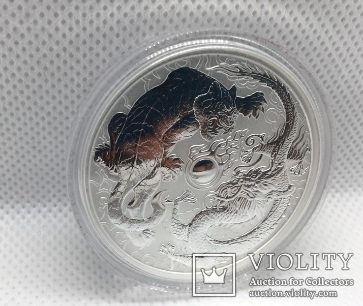 Дракон и Тигр 2018 Австралия Perth Mint, фото №4