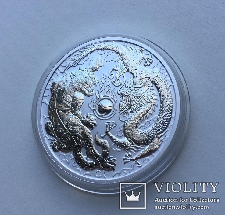 Дракон и Тигр 2018 Австралия Perth Mint, фото №5