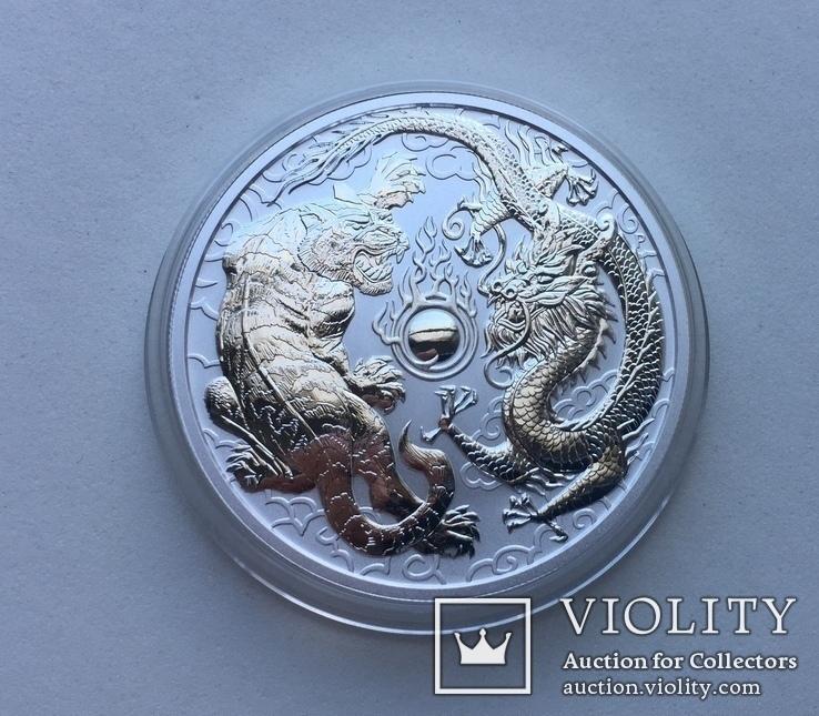 Дракон и Тигр 2018 Австралия Perth Mint, фото №6