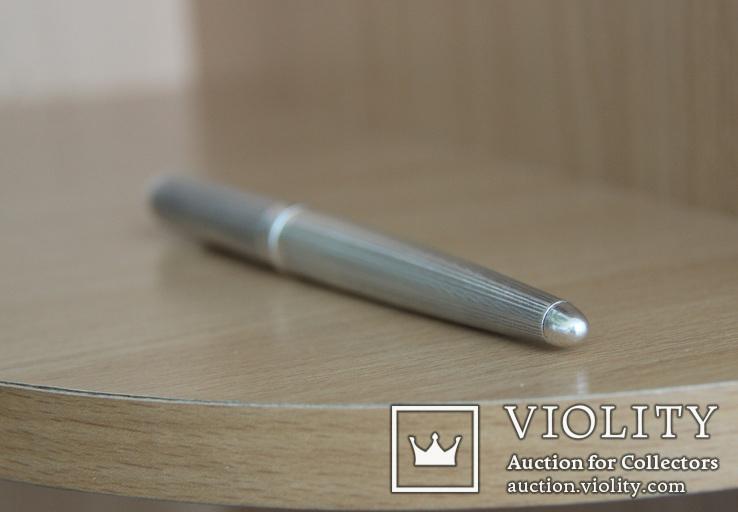 Montegrappa Senna, массивная статусная шариковая ручка,серебро, фото №7