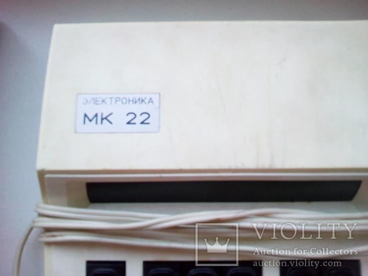 Калькулятор мк - 22, ссср., фото №3