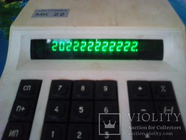 Калькулятор мк - 22, ссср., фото №7