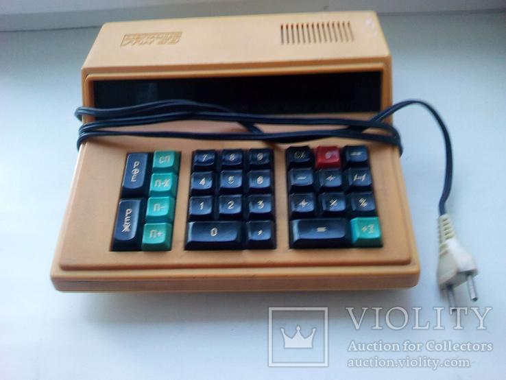 Калькулятор ,электроника мк-59., фото №4