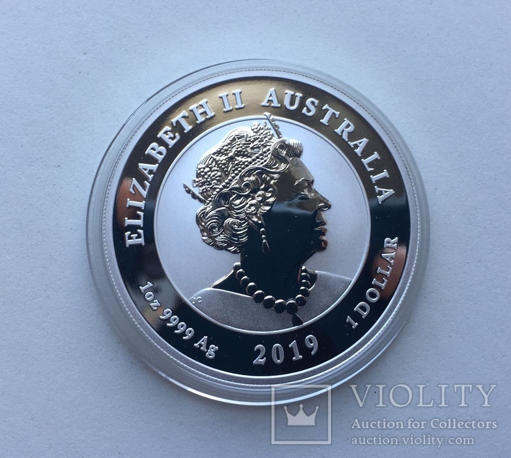 Два дракона 2019 Австралия Perth Mint Фен-Шуй, фото №7