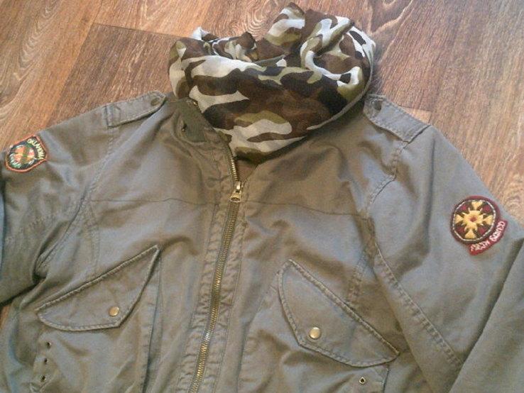 Fresh Oklahoma - куртка штурмовка с бафом камуфляж, фото №3