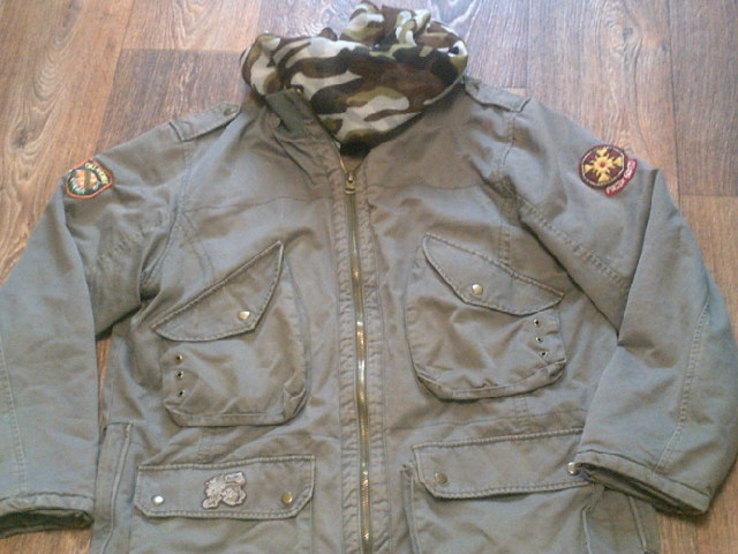 Fresh Oklahoma - куртка штурмовка с бафом камуфляж, фото №4