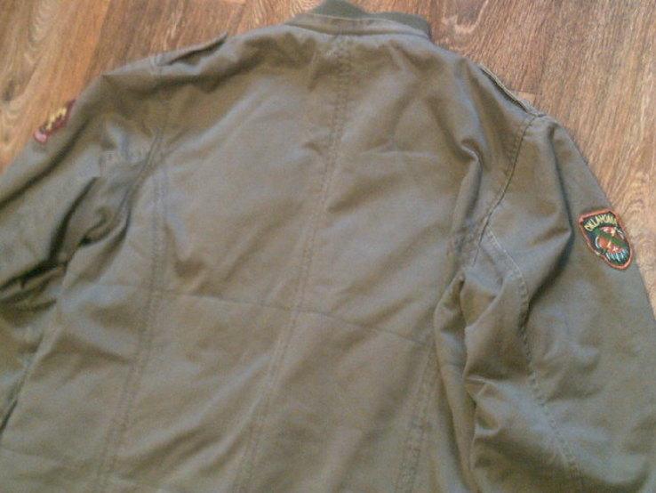 Fresh Oklahoma - куртка штурмовка с бафом камуфляж, фото №12