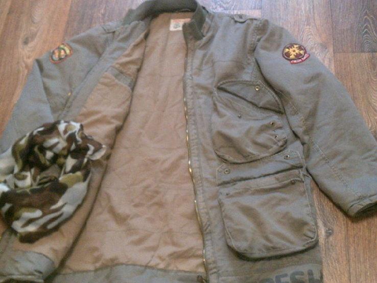 Fresh Oklahoma - куртка штурмовка с бафом камуфляж, фото №13