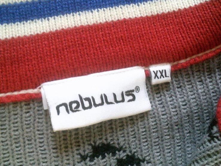 Nebulus - фирменный стильный теплый свитер разм.XXL, фото №6