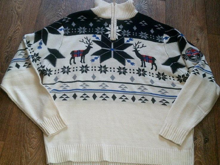 Nebulus - фирменный стильный теплый свитер разм.XXL, фото №7