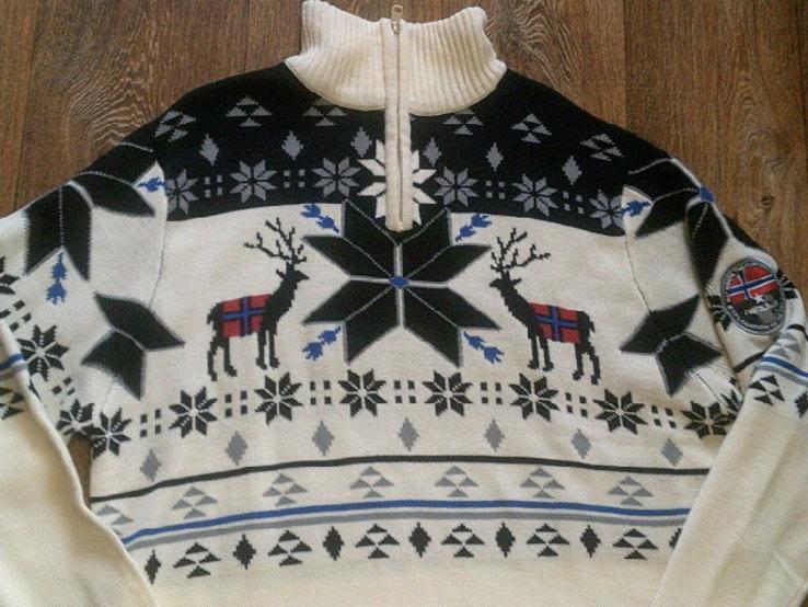 Nebulus - фирменный стильный теплый свитер разм.XXL, фото №8