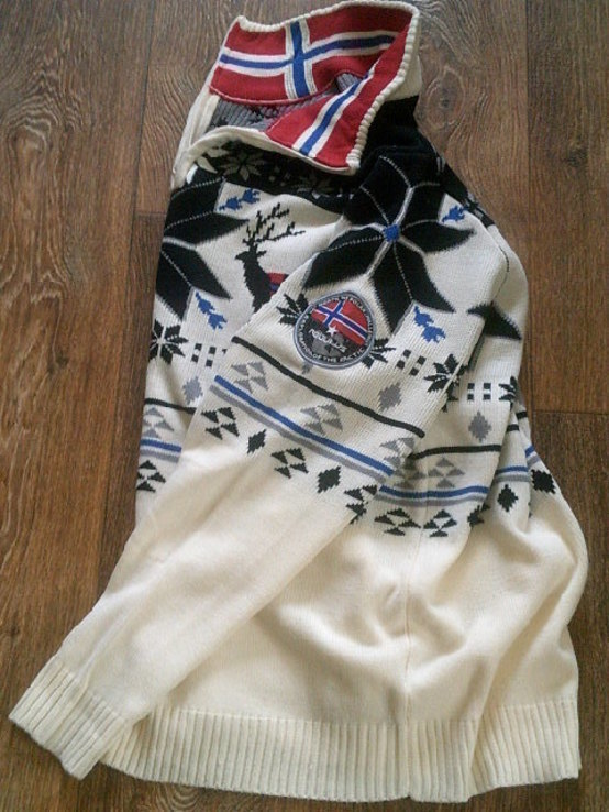 Nebulus - фирменный стильный теплый свитер разм.XXL, фото №9