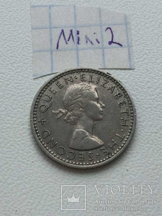 New Zealand 6 pence, 1964, фото №3