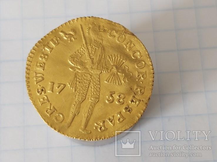 Дукат 1758, фото №12