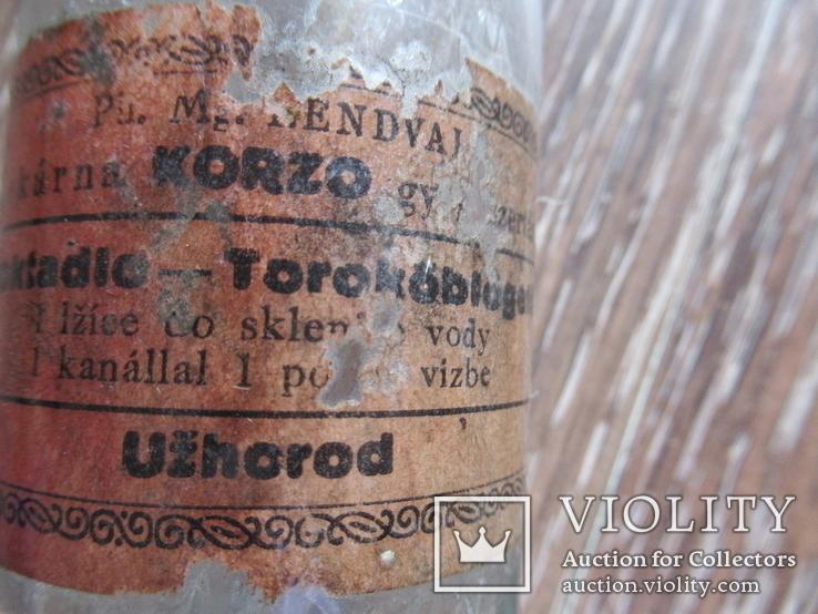 Бутылка Аптечная Ужгород Корзо Uzhorod Korzo, фото №8