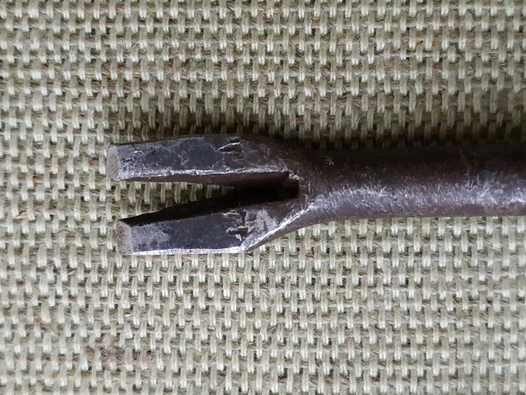Молоток миниатюрный с гвоздодером, фото №3