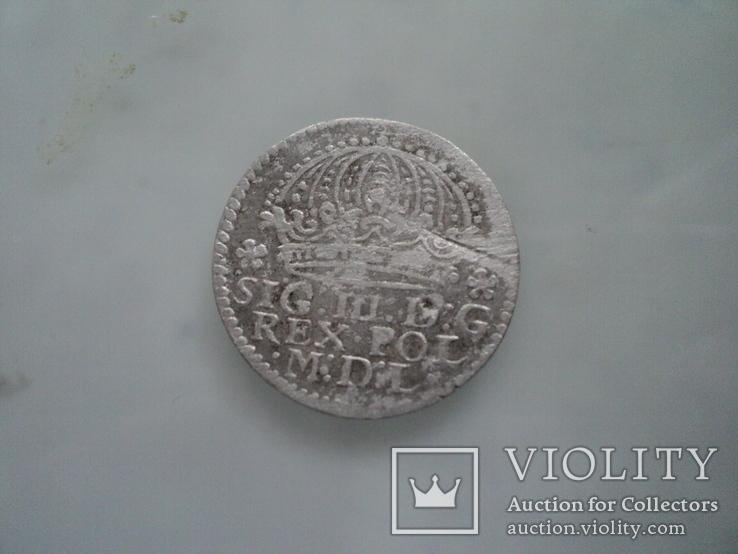 Грош коронный 1610 г, фото №4