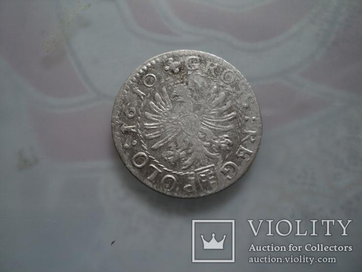 Грош коронный 1610 г, фото №6
